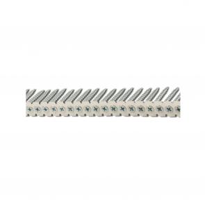 Gipsskruv träregel bandad, Förzinkad