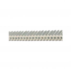 Spånskiveskruv bandad, Förzinkad